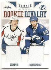 11/12 PANINI ROOKIE ANTHOLOGY ROOKIE RIVALRY DUAL JERSEY Eakin/Connolly #9
