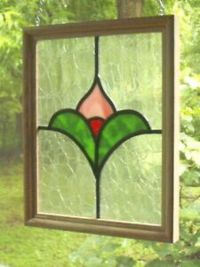 """stained glass panel 8"""" x 10"""""""