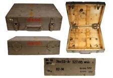 caisse de transport en bois Boîte à outils valise munitions militärkiste