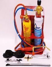 Kit saldatura ossigeno gas Turbo Set 90 con cannello e 2 bombolette in dotazione