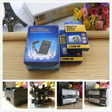 2X Battery + Charger for Canon BP-511a EOS 40D 30D 20D 300D 5D 50D