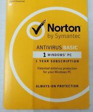 Symantec Norton Antivirus 2015 V21 1pc 1year OEM