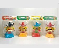 Solar Power Dancing Toy Mexican Taco Swinging Dancing Toys Brand New Set Of 4