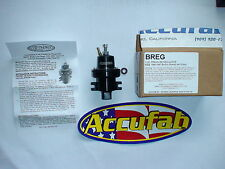 NEW Accufab Adjustable Fuel Pressure Regulator FPR AFPR Buick GNX GMC  Pontiac