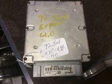 (JF)1992 Ford Explorer ECM Engine Control Module Computer F27F-12A650-VB W2E1