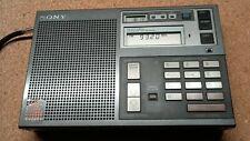 SONY ICF-7600DS Weltempfänger Radio FM LW MW SW .Inkl.Zubehör