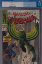 Amazing Spider-Man #48 Cgc 6.0 Fn cream to O/W pages Marvel - the Vulture