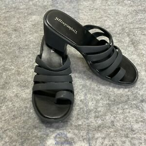 Jeffrey Campbell 9 Pectin Sandal Black New without Tags Size 40