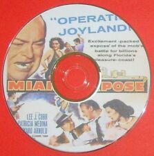 FILM NOIR 361: MIAMI EXPOSÉ 1956 Fred F. Sears, Lee J. Cobb, Edward Arnold