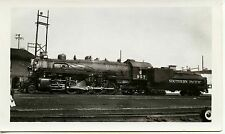 7F673 RP 1940s/50s SOUTHERN PACIFIC RAILROAD ENGINE #957 HOUSTON TEXAS T&NO
