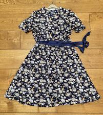 MARKS & SPENCER M&S ST MICHAEL FLOWER PATTERN BUTTONED DRESS