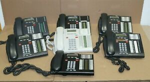 Nortel Networks Business Phone LOT OF 7x -See Images