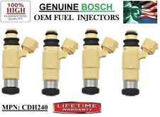 OEM Bosch for 99-05 Dodge & Mitsubishi & Chrysler 2-2.4L I4 Fuel Injectors Set/4