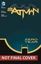 Batman Volume 4: Zero Year - Secret City HC (The New 52), Very Good Condition Bo