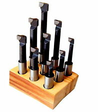 9 Bohrstange Bohrstahl 12mm für Ausdrehkopf Ausbohrkopf
