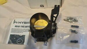 HYBRID RACING K-SERIES 76mm to 70mm THROTTLE BODY K20 Honda Civic EP3, DC5