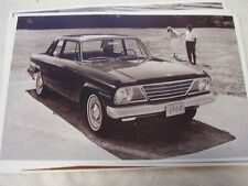 1964 STUDEBAKER COMMANDER 2DR 11 X 17  PHOTO  PICTURE