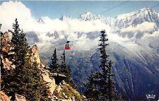 BR13146 Chamonix Mont Blanc telepherique Plan praz au Brevent   france