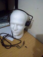 WW2 Vintage British army Radio Headphones raf