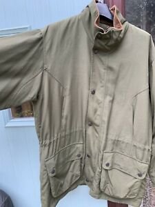 mens barbour lightweight shooting jacket size large (generous cut)