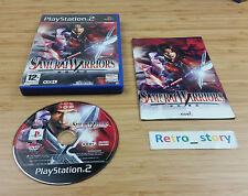 PS2 Samurai Warriors PAL