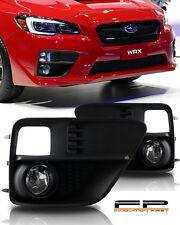 For 2015-2017 Subaru Impreza WRX Fog Light Kit CLEAR Wiring Switch Complete Kit