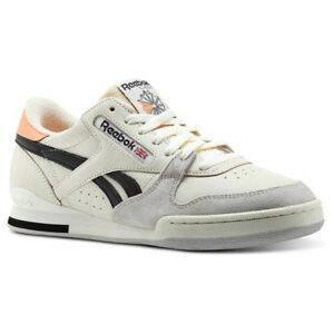 Reebok Phase 1 Pro FT (Chalk/Sunbaked Orange/Sku) Men's Shoes BS9750
