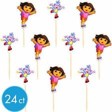 Dora Birthday Party Fun Picks 24ct Tooth Pick