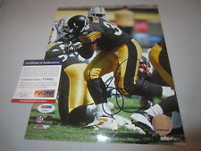 JEROME BETTIS SIGNED 8X10 PHOTO PSA/DNA PITTSBURGH STEELERS THE BUS U74841