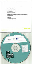 ARMAND VAN HELDEN My My My w/ RARE CLUB MIX & RADIO EDIT UK PROMO DJ CD Single
