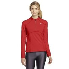NWT $46 NordicTrack Women's Performance 1/4 Zip Top Spice Large