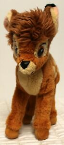 "12"" Gund Disney's Bambi Poseable Plush with Butterfly Stuffed Animal Toy"