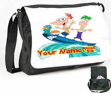 Phineas e Ferb Borsa A Tracolla/Messenger Bag/Borsa per Laptop