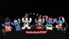 Yujin Disney Lilo & Stitch Halloween keychain Figure Gashapon ( full set 6 Pcs)