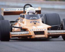 1978 Driver RENE ARNOUX Glossy 8x10 Photo U.S. Grand Prix Poster Watkins Glen