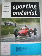 Sporting Motorist Sep 1961 Triumph TR4, Peugeot 404
