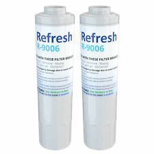 Fits Maytag MFI2568AES Refrigerator Water Filter Replacement by Refresh (2 Pack)