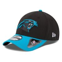 Carolina Panthers Hat New Era 39Thirty Football 3930 Flex-Fit Cap M/L New Black