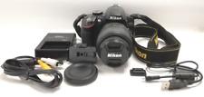 Nikon FOTOCAMERA DIGITALE REFLEX d3200 18-55 VR Kit fotocamera usato