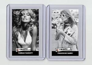 Francoise Hardy rare MH Culebra #'d 2/3 Tobacco card no. 297