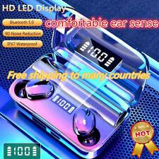 TWS Auriculares audífonos inalámbricos Bluetooth 5.0 Auriculares intraurales Impermeable Mini