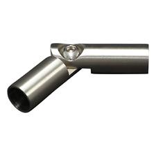 Edelstahl Stabverbinder mit Gelenk für Rundstab 12 mm - V2A - schmale Ausführung
