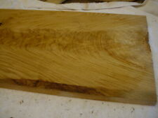White Oak wood (Figured/Crotch) Planed 2 Sides.Slab Carving, Craft .dry.