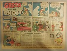 Oxydol Soap Ad: Greta And The Ghost ! from 1930's