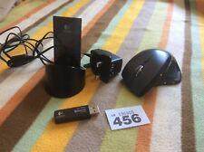 Mouse Láser Logitech MX Revolution Performance Inalámbrico Cargador USB Dongle Palo