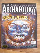 Current World Archaeology Magazine #67 October November 2014: Moche of Peru