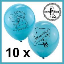 Sünnet balonu sünnet kiyafeti Masallah Nisan Nazar BABY PARTY sünnetlik Cocuk
