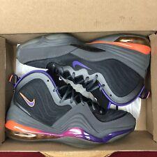 hot sale online d01d8 8a02d Nike Air Max PENNY V 5 PHOENIX SUNS DARK GREY PURPLE BLACK 537331-070 SZ