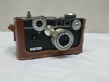 Argus C3 Camera Rangefinder with Leather Case Film Photo Lens Picture Vintage