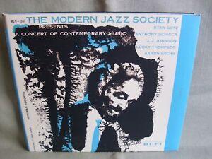 The Modern Jazz Society- A Concert of Contemporary Music- Digipak- VERVE 1999